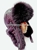 Модная шапка-ушанка для мужчин хит сезона