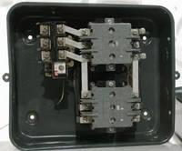 Электромагнитный пускатель ПМА 3412 380 В реверс, в корпусе с ТР