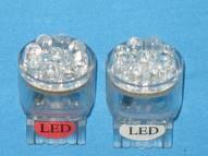 Автосветодиод T20-7440-15LED-12V