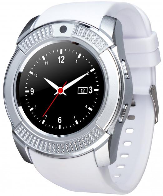 Смарт-часы Smart Watch V8 White УЦЕНКА (230837)