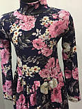 Платье для девочки с цветами 104,110,122 см, фото 2