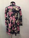 Платье для девочки с цветами 104,110,122 см, фото 3