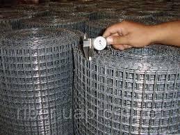 Оцинкованная сварная сетка 50х50х1,6мм, фото 2