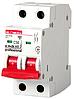 Модульный автоматический выключатель e.mcb.pro.60.2.C 50 new, 2р, 50А, C, 6кА