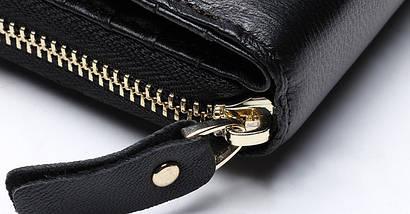 Женский кожаный клатч JoyIR(черний), фото 3