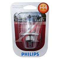 Лампа накаливания H4VisionPlus12V 60/55W P43t-38 (производитель Philips) 12342VPB1