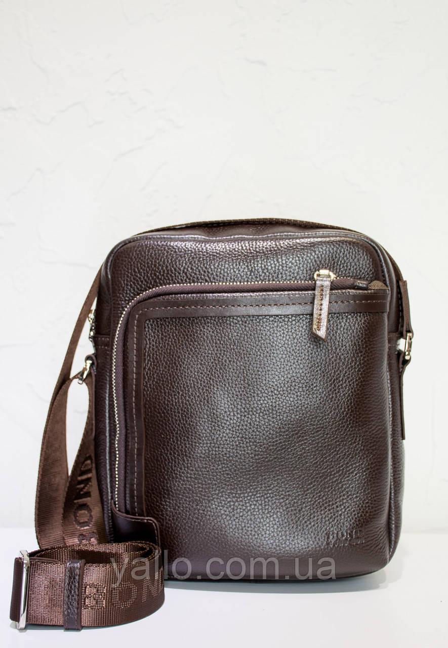 Mужская кожаная сумка BOND 1086-286