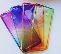Чехол силиконовый градиент Xiaomi Redmi 3s