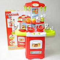 Детская кухня для девочки игрушечная Cook fun салатовая