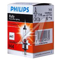 Лампа накаливания H4 12V 100/90 WP43t-38 RALLY (производитель Philips) 12569RAC1