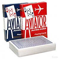 Покерные карты Aviator Jumbo Index