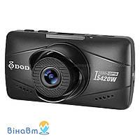 Автомобильный видеорегистратор DOD IS420W с GPS модулем