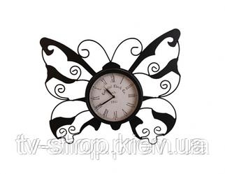 Часы Бабочка  (металл)