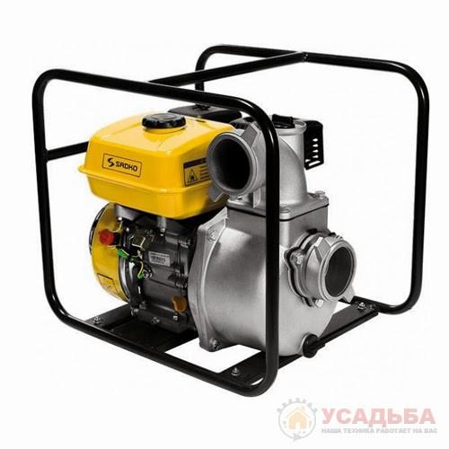 Бензиновая мотопомпа Sadko WP-8030 (60 м.куб/час, для чистой воды)