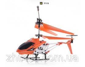 Радиоуправляемый вертолет Model King 33008 с гироскопом, оранжевый