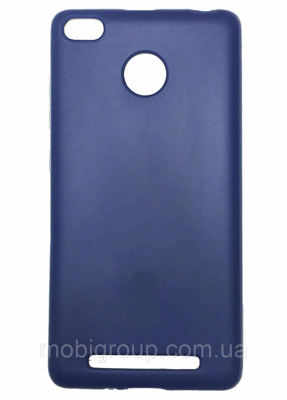 Матовый силиконовый чехол Xiaomi Redmi 3
