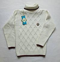 Вязаный свитер с горлом для мальчика 5-6 7-8 9-10 лет Турция