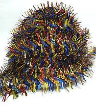 Мишура №3 D=50 мм 1,6 м Фонарик спиральный Китай