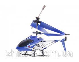Радиоуправляемый вертолет Model King 33008 с гироскопом, синий