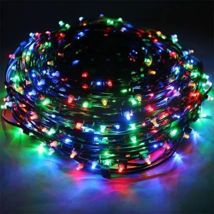 Новогодняя светодиодная гирлянда LED 500 диодов мульти M7, фото 2