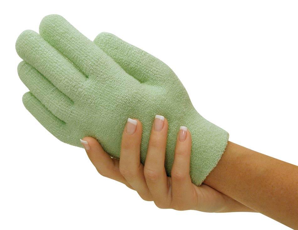 Gel Spa Gloves.(Гелеві зволожуючі рукавички) Зелені