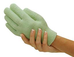 Gel Spa Gloves.(Гелевые увлажняющие перчатки) Зеленые