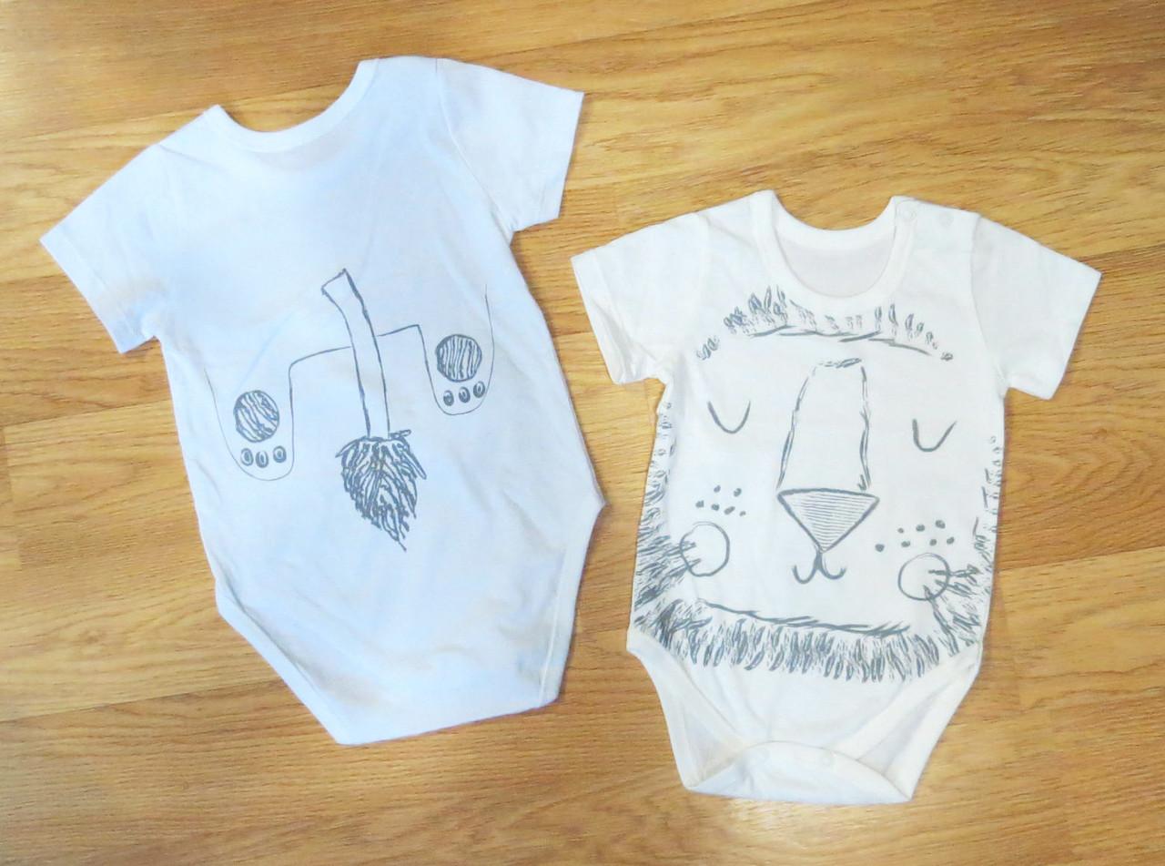 Боди короткий рукав для новорожденных (рост 68 1d1a6f5883685
