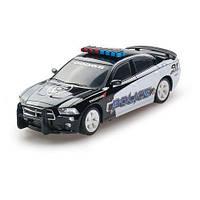 Автомодель DODGE CHARGER POLICE 2014 (черный,1:26, свет, звук, инерц.) GearMaxx (89731)