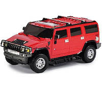 Автомодель HUMMER H2 (ассорти серый, красный, 1:26, свет, звук, инерц.) GearMaxx (89521)