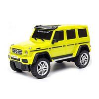Автомодель MERCEDES-BENZ G500 (ассорти желтый, серебристый,1:26, свет, звук, инерц.) GearMaxx (89801)