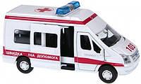 Автомодель FORD TRANSIT РЕАНИМАЦИЯ (свет, звук) Технопарк (SB-13-02-1)