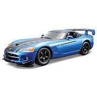 Авто-конструктор DODGE VIPER SRT10 ACR (2008) (голубой металлик, 1:24) Bburago (18-25091)