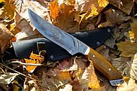 Нож ручной работы Лайка с кожаным чехлом + эксклюзивные фото