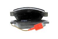 Колодка тормозная CITROEN NEMO, FIAT BRAVO, STILO передний (производитель TRW) GDB1482
