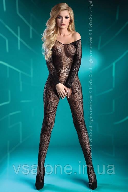Жіночий боді комбінезон Abra black Livia Corsetti Fashion