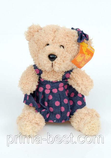 Мягкая игрушка  Мишка Тедди-девушка ( на присоске)