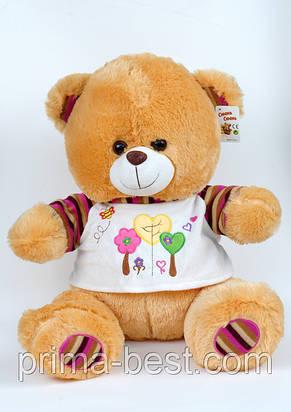 Мягкая игрушка  Медведь(футболка с цветком), фото 2