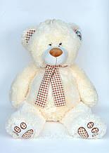 М'яка музична іграшка ведмедик з шарфом