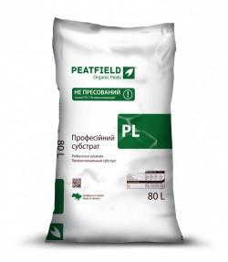 Субстрат професійний PL-1 (80 л) Peatfield Standard  / Торфяной субстрат Питфилд експерт 80 л