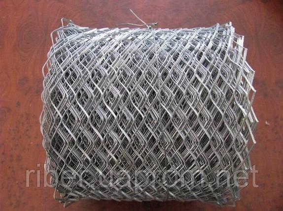 Сетка штукатурная оц. 17х40х0,5мм, фото 2