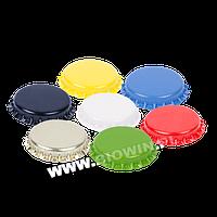 Крышечки fi 26 - 100шт. Цветные