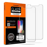 Защитное стекло для iPhone X Screen Protector GLAS.tR SLIM HD 2шт. (057GL22106)