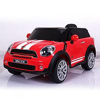 Детский электромобиль Mini Cooper JJ 2258 EBLR-3 ,EVA колеса,кожаное сиденье