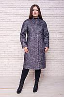 Зимнее теплое классическое пальто ФИЛОНА