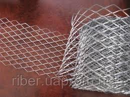 Сетка штукатурная 25х60х0,6 черн. металл
