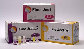 Инсулиновые иглы для инсулиновых шприц-ручек Fine Ject (Файн Джект), Twobiens Co Ltd, Южная Корея