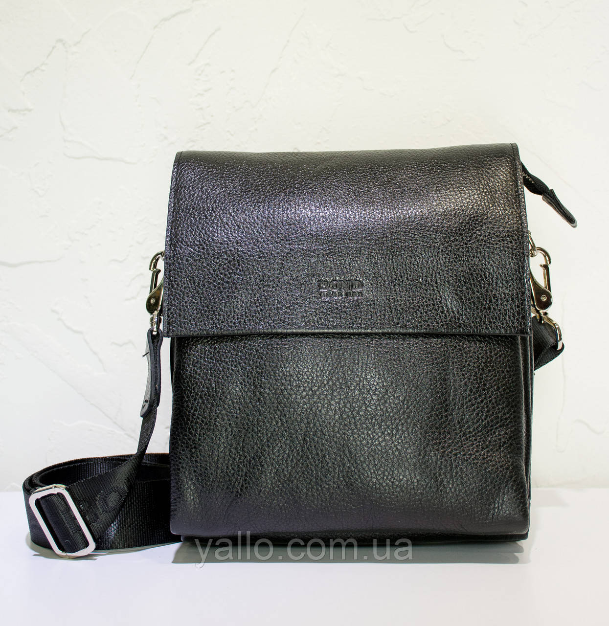 Мужская кожаная сумка BOND 1363-281