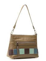Кожаная сумка через плечо в 2х цветах L-2102-2, фото 1