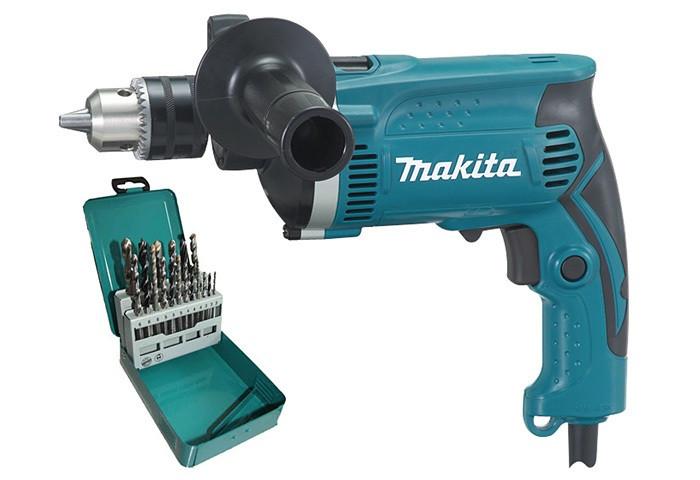 Ударная дрель Makita HP1630KX2