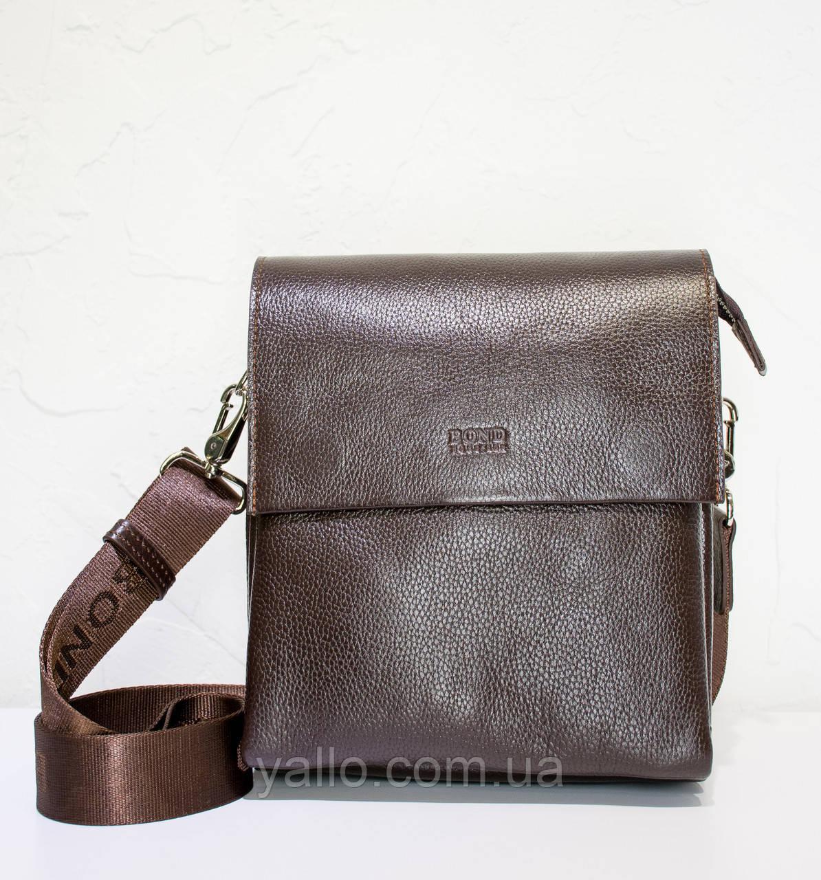 Мужская кожаная сумка BOND 1363-286
